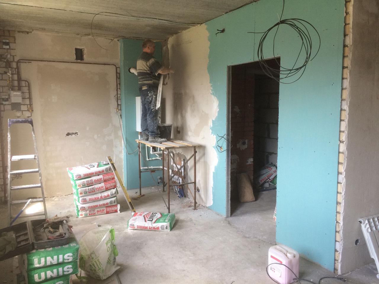 Начинаем отделочные работы в Николо-Малица